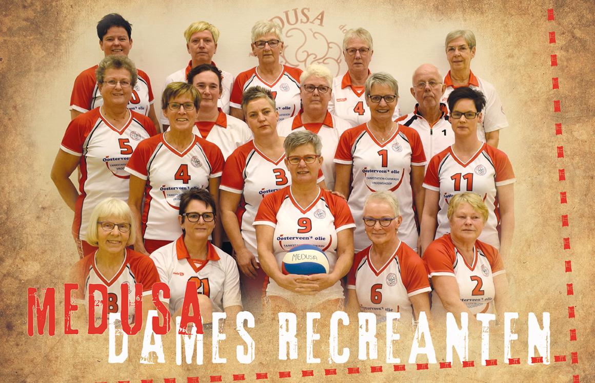 Volleybalvereniging Medusa Vroomshoop - Dames Recreanten